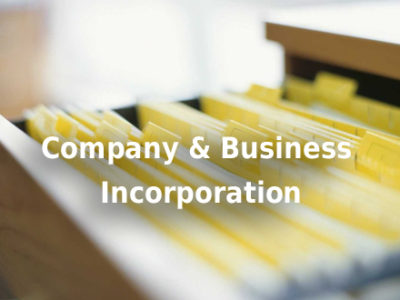 Company & Business Incorporation